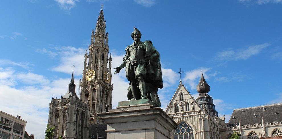 Treinreis Stedentrip Antwerpen België