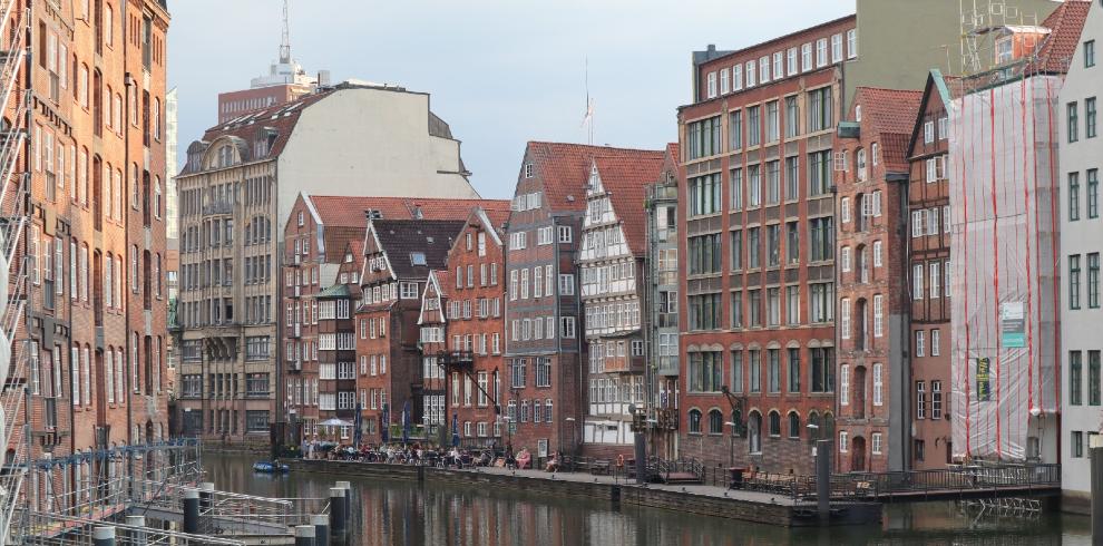 Stedentrip met de trein naar Hamburg
