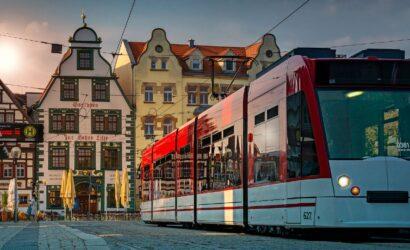 Treinreis stedentrip Erfurt en Weimar