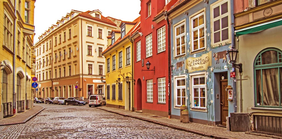 Treinreis rondreis Baltische Staten