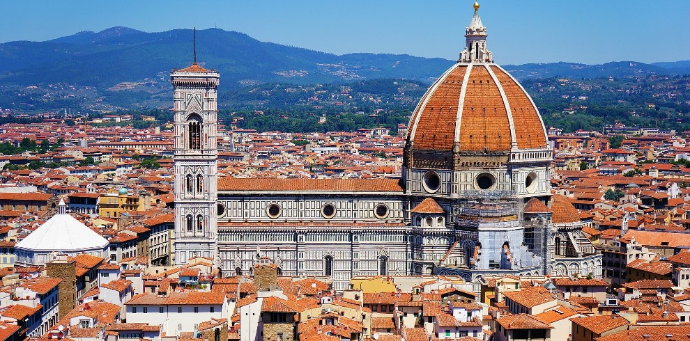 Treinreis rondreis Toscane