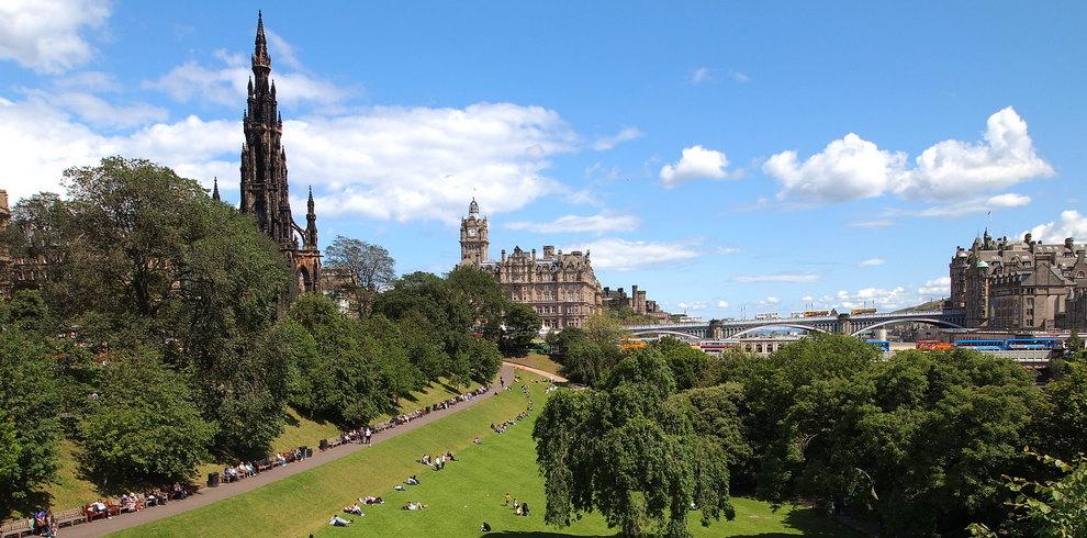 Treinreis Stedentrip Edinburgh Groot-Brittannië Schotland