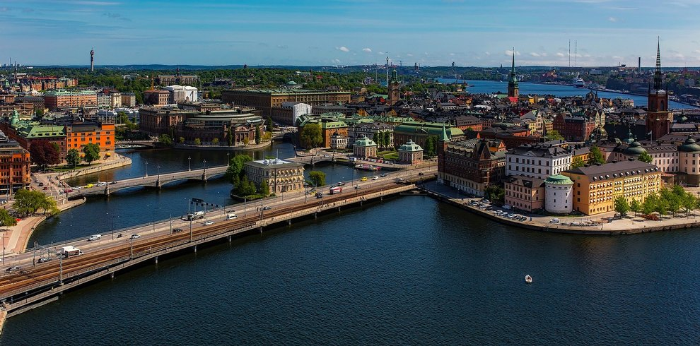 Treinreis Rondreis Scandinavische hoofdsteden Stockholm Oslo Kopenhagen