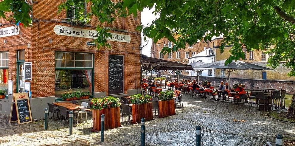 Treinreis stedentrip Brugge
