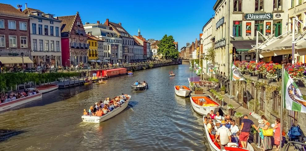 Treinreis stedentrip Gent