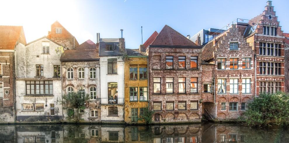 Gent – Afbeelding van Rudy and Peter Skitterians via Pixabay