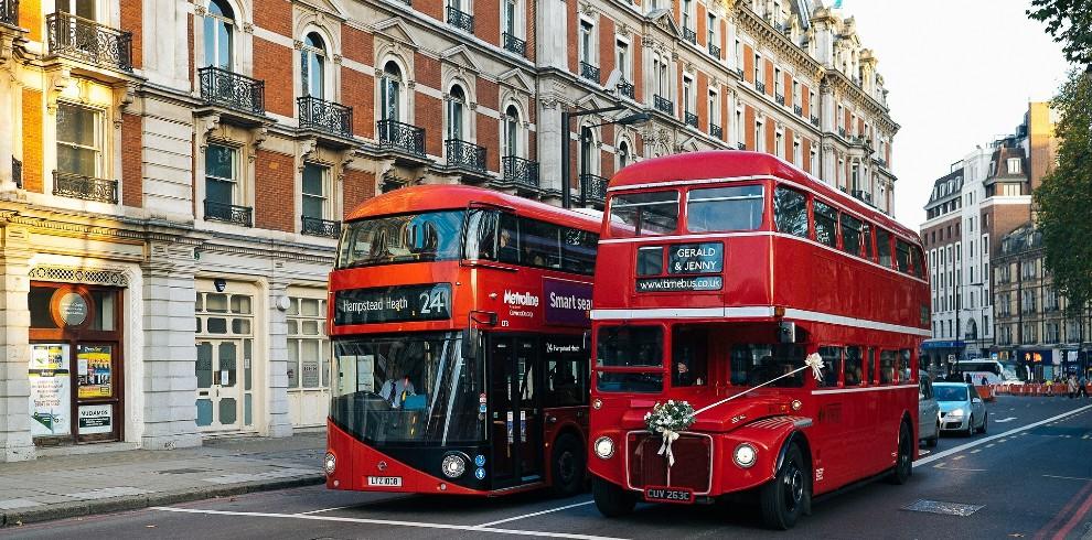 Treinreis stedentrip Londen