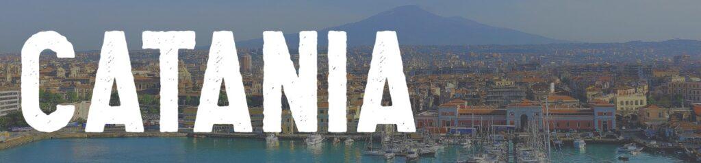 Met de trein naar Catania Sicilië Italië