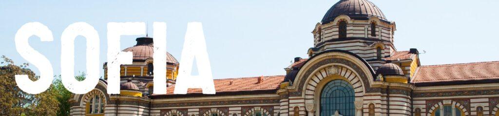 Met de trein naar Sofia Bulgarije
