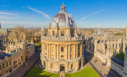 Treinreis stedentrip Cambridge en Oxford