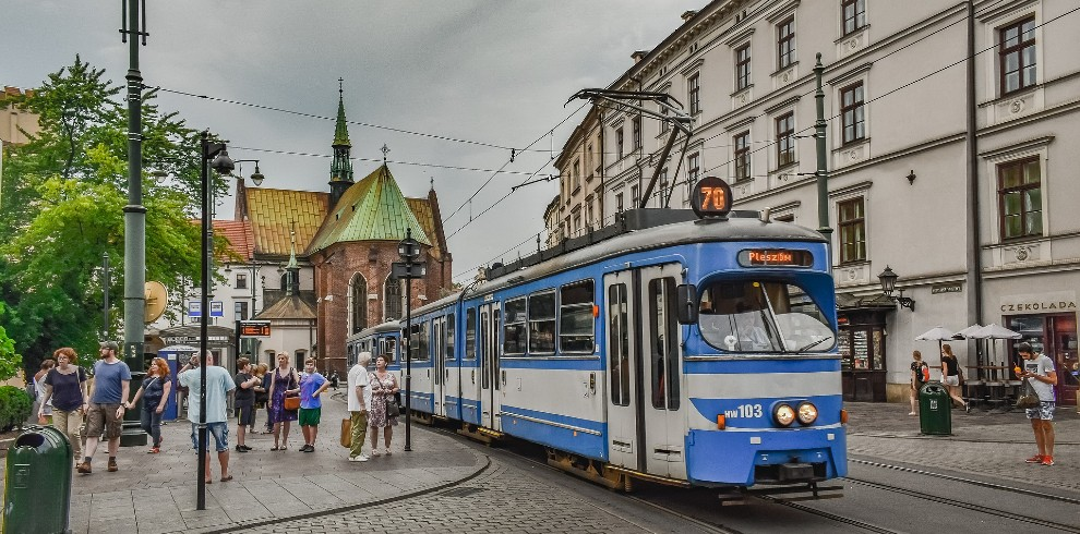 Treinreis stedentrip Krakau