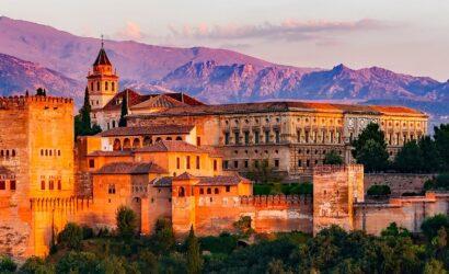 Treinreis rondreis Andalusië