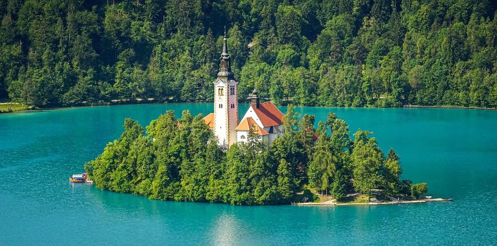 Treinreis rondreis Slovenië, Bled