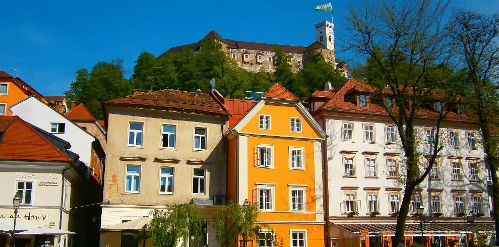 Treinreis rondreis Slovenië, Ljubljana