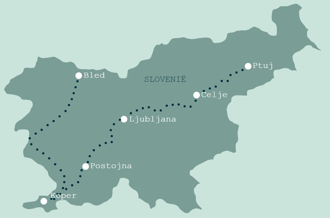 Treinrondreis Slovenië