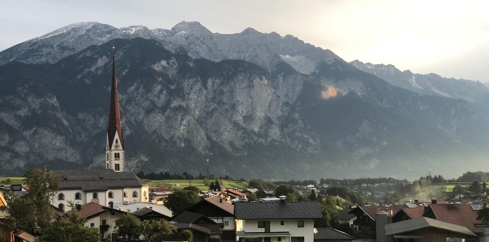 Treinreis vakantie Innsbruck Alpen Oostenrijk