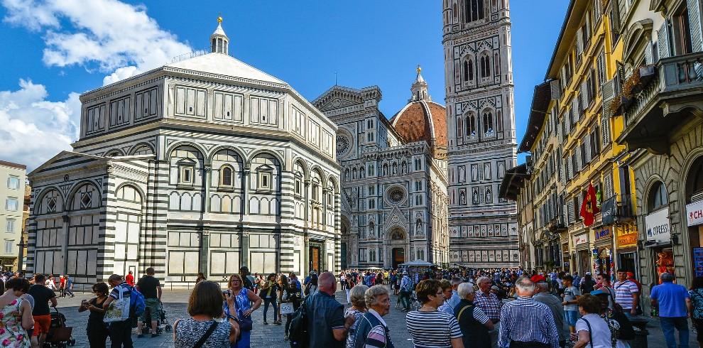 Treinreis stedentrip Florence